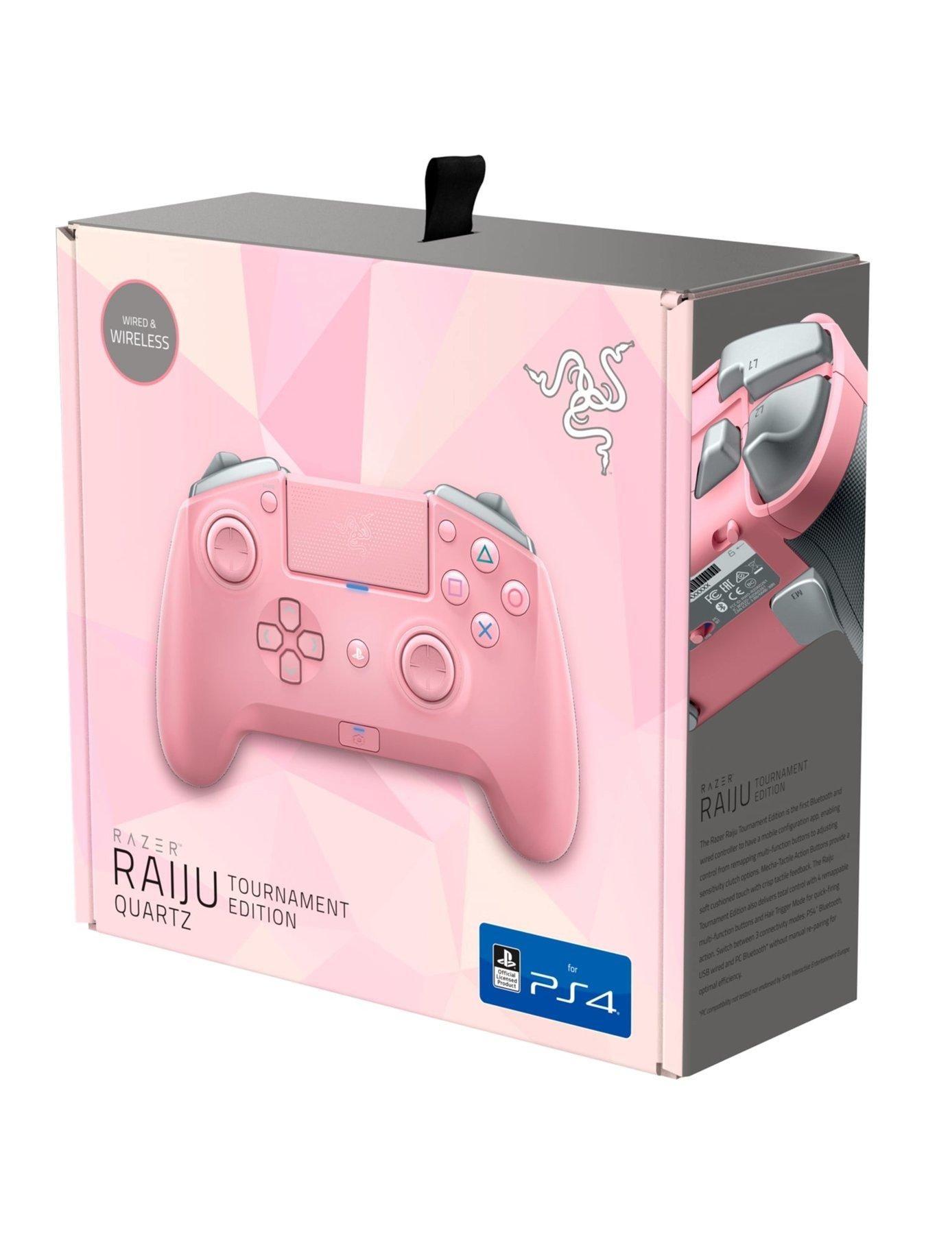 Razer Raiju Tournament Ed. Quartz Gamer setup