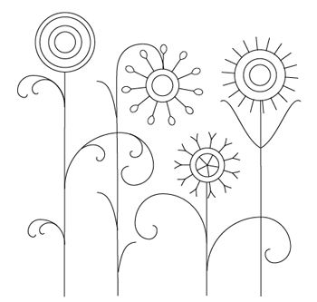Floral Patterns Simple
