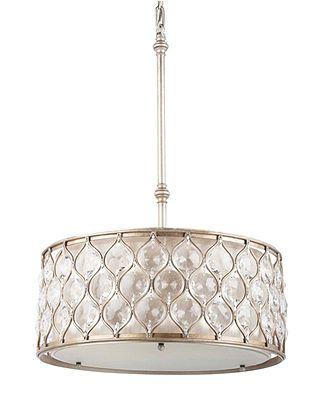 Feiss lucia collection crystal oval pendant chandeliers lighting feiss lucia collection crystal oval pendant macys aloadofball Choice Image