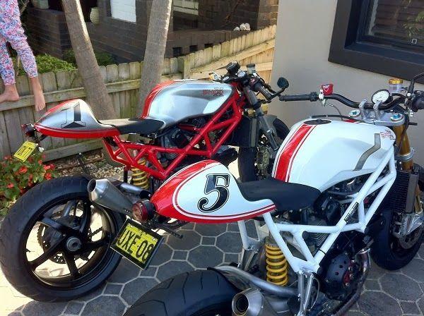Ducati St2 Cafe Racer Streetbike