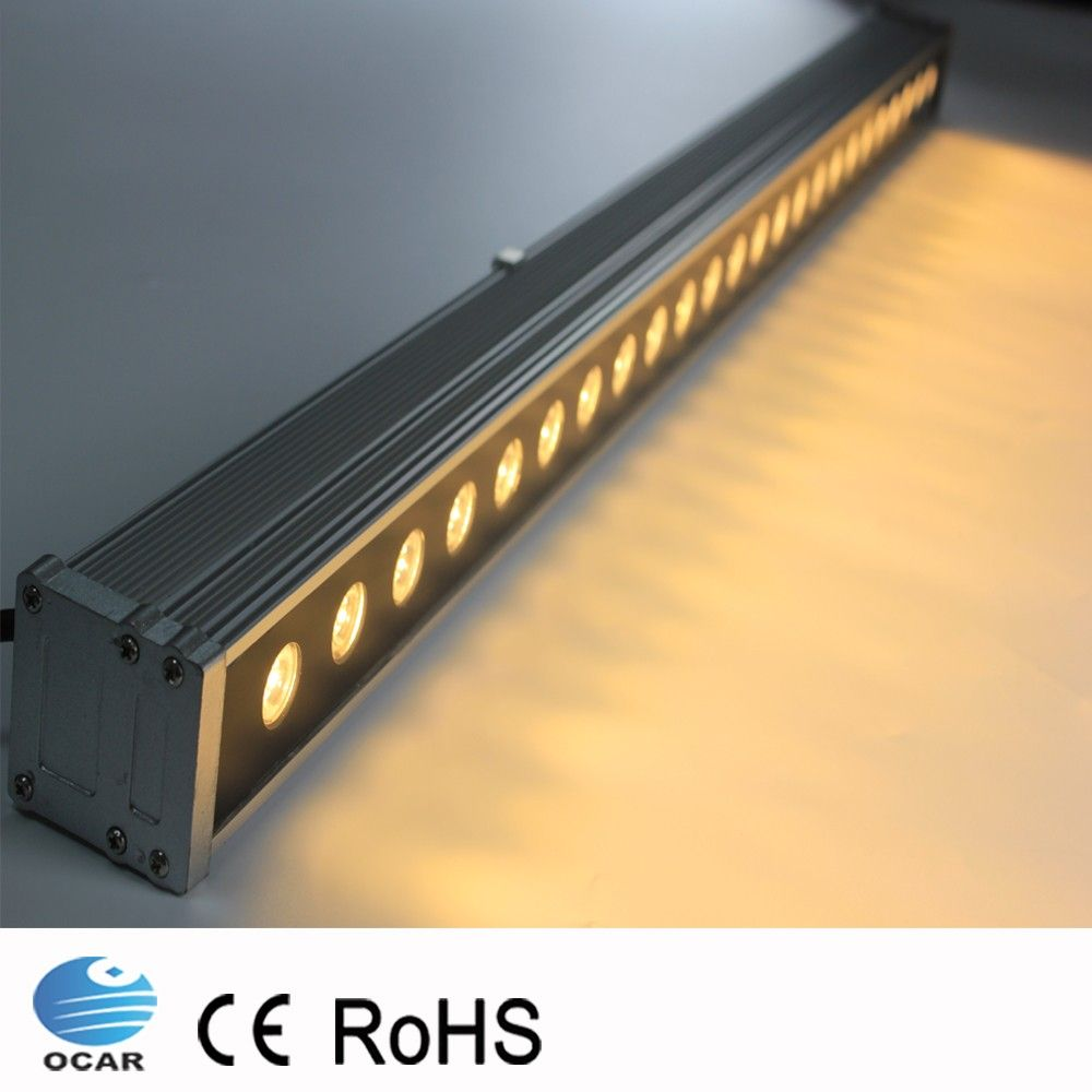 1m 72w Led Wall Washer Landscape Light Ac 24v Ac 85v 265v Outdoor Lights Wall Linear Lamp Floodlight 100cm Facade Lighting Outdoor Lighting Landscape Lighting