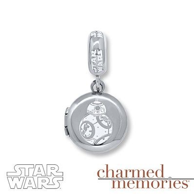 Charmed Memories Star Wars Captain Phasma Charm Sterling Silver