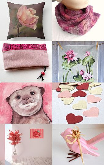Shady Pink.......... by Viv on Etsy--Pinned with TreasuryPin.com