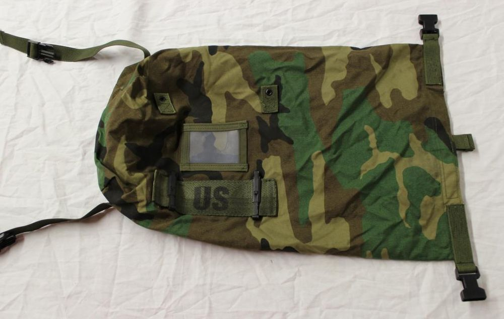 US ARMY NBC (Nuclear/Biological/Chemical) suit bag/stuff