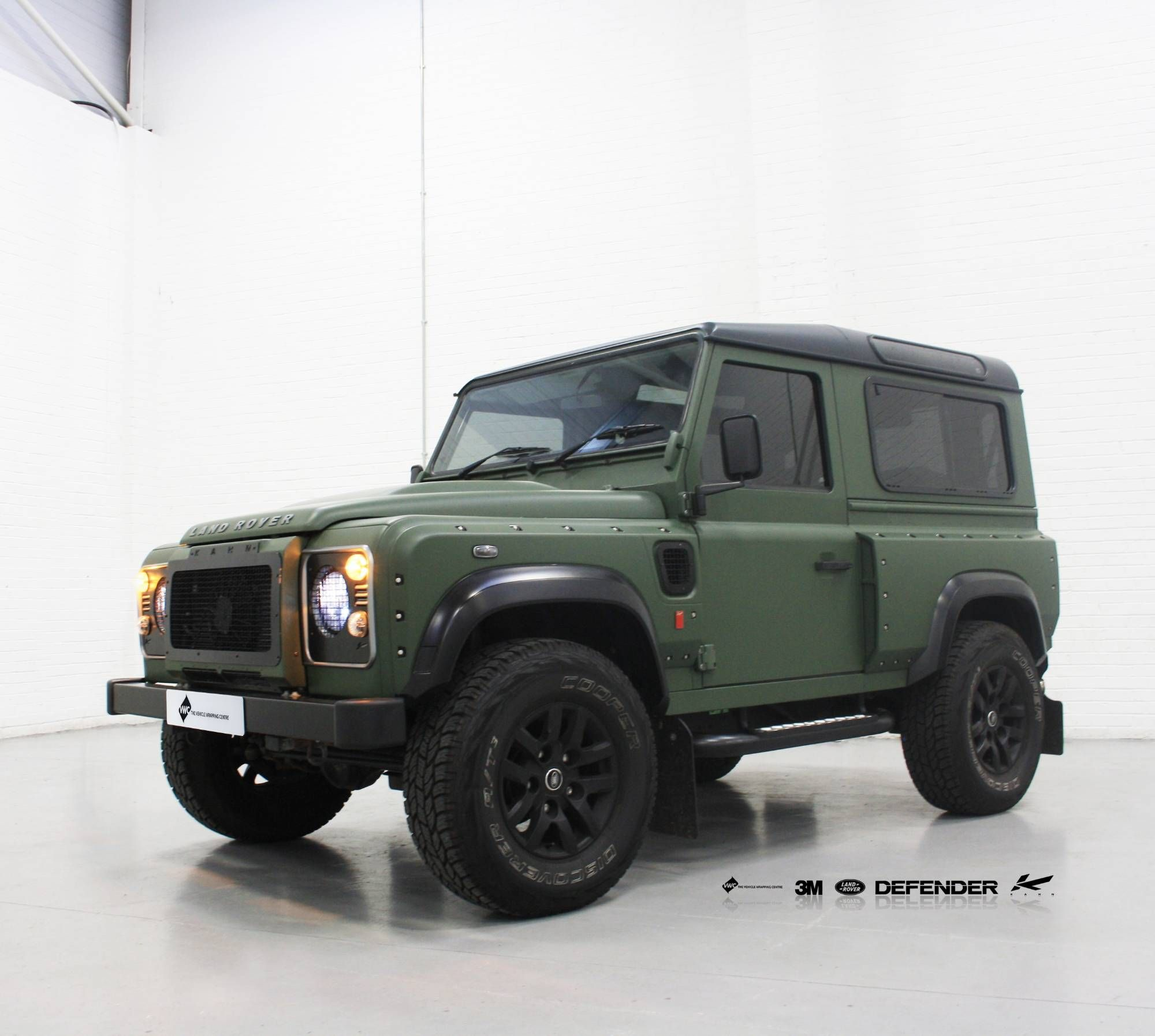 2013 land rover defender by kahn design youtube - Project Kahn Defender 3m 1080 Matte Military Green Personal Vehicle Wrap Project