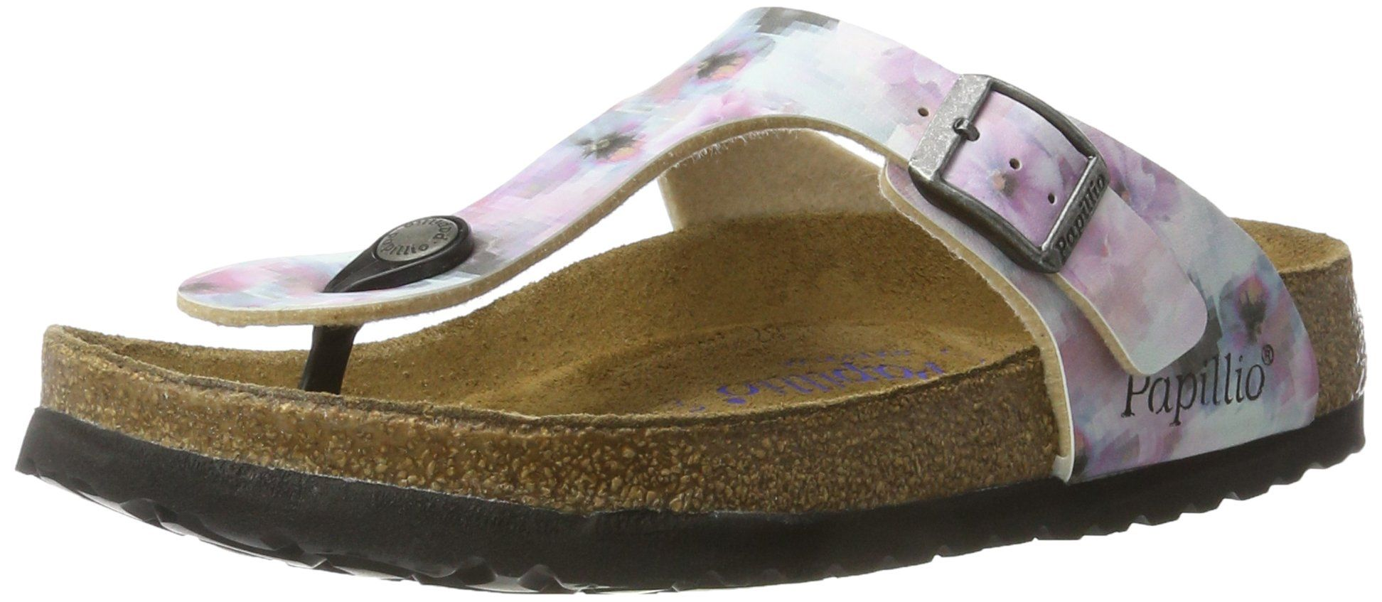 ea2f7abc7910dd Papillio by Birkenstock Gizeh Ladies Toe Post Buckle Sandals Pixel Rose 37    Click on the image for additional details. (This is an affiliate link)