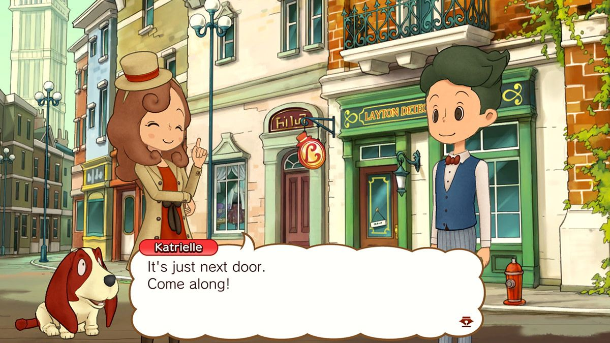 All in the Family 'Layton's Mystery Journey Katrielle