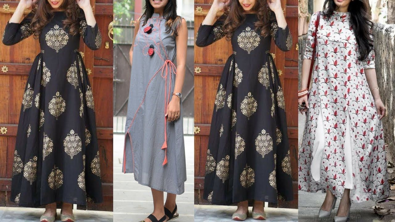 caba43f6667237 Top Beautiful Designer Kurta Kurti Designs 2018  Kurti  Kurta designs 2018
