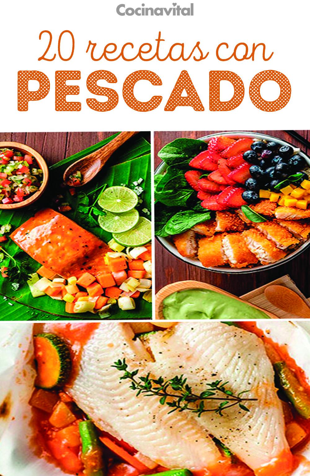 Recetas de pescado para dieta