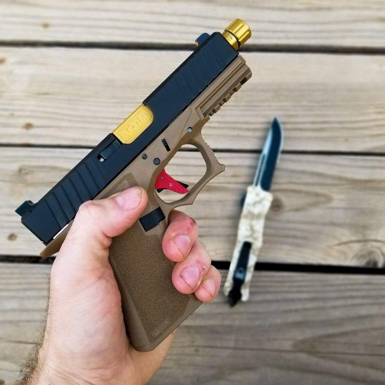 Pin on Polymer 80 PF940C Custom Glock 19 Build 2