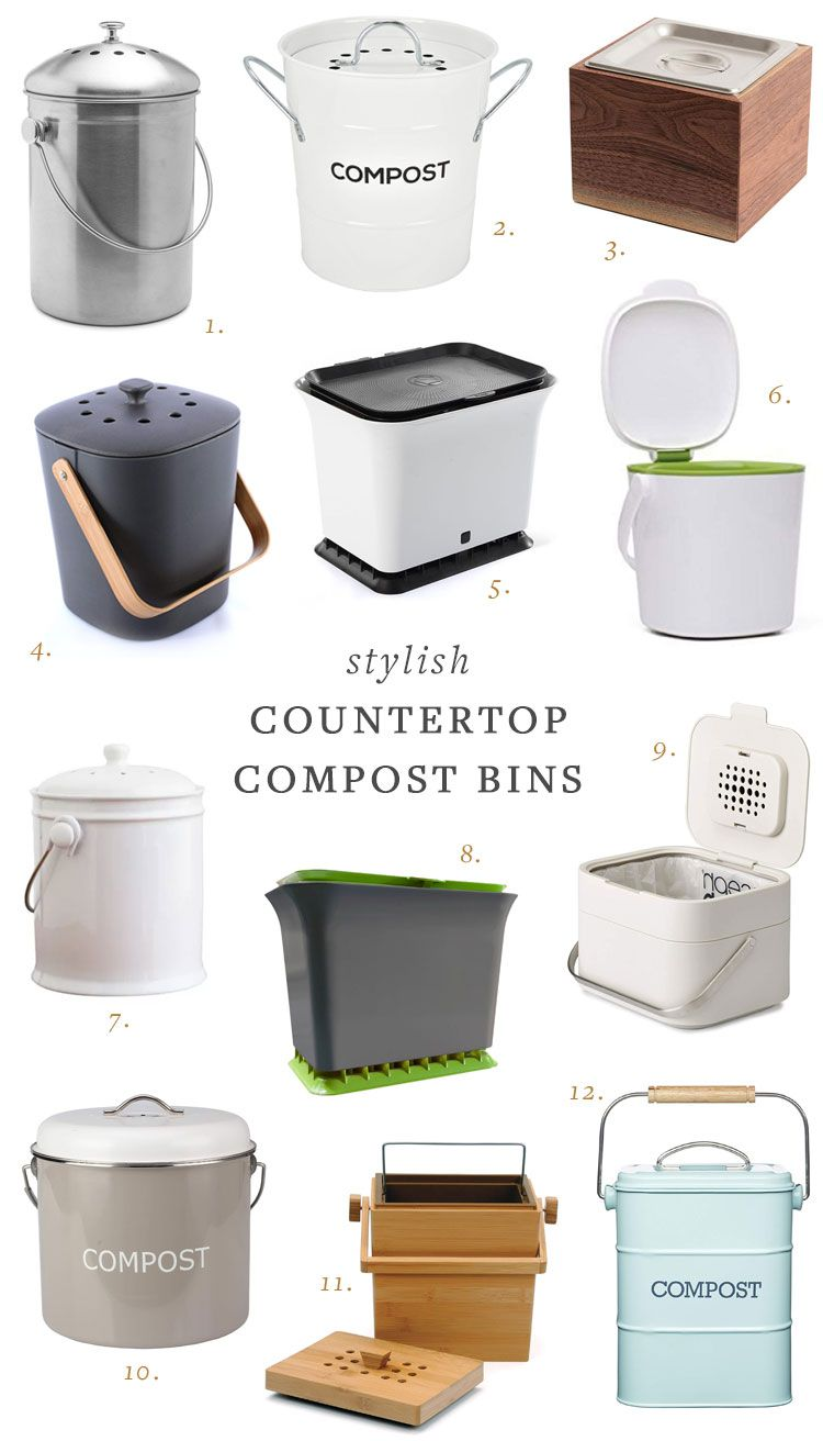 My Search for a Stylish Countertop Compost Bin | Kitchen ...