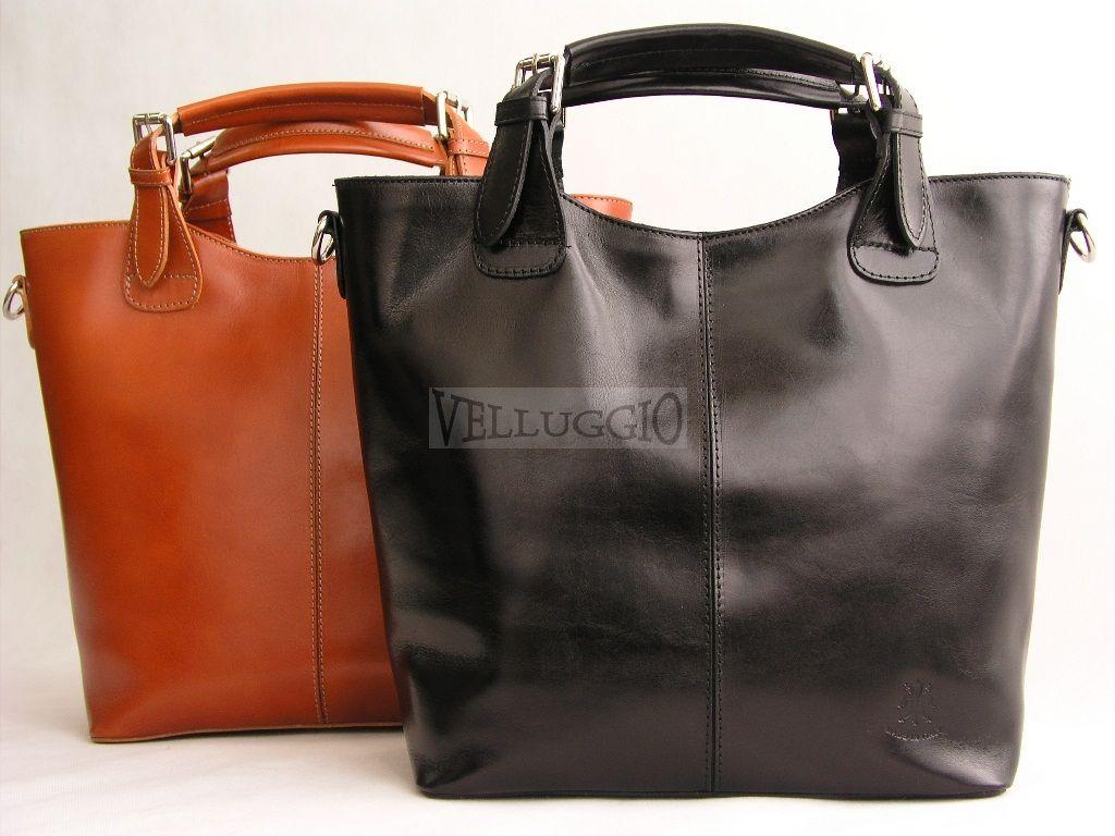 Torebka Zarka Olivia Shopper Wloska Skora Czarna 3409317273 Oficjalne Archiwum Allegro Bags Hobo Luggage