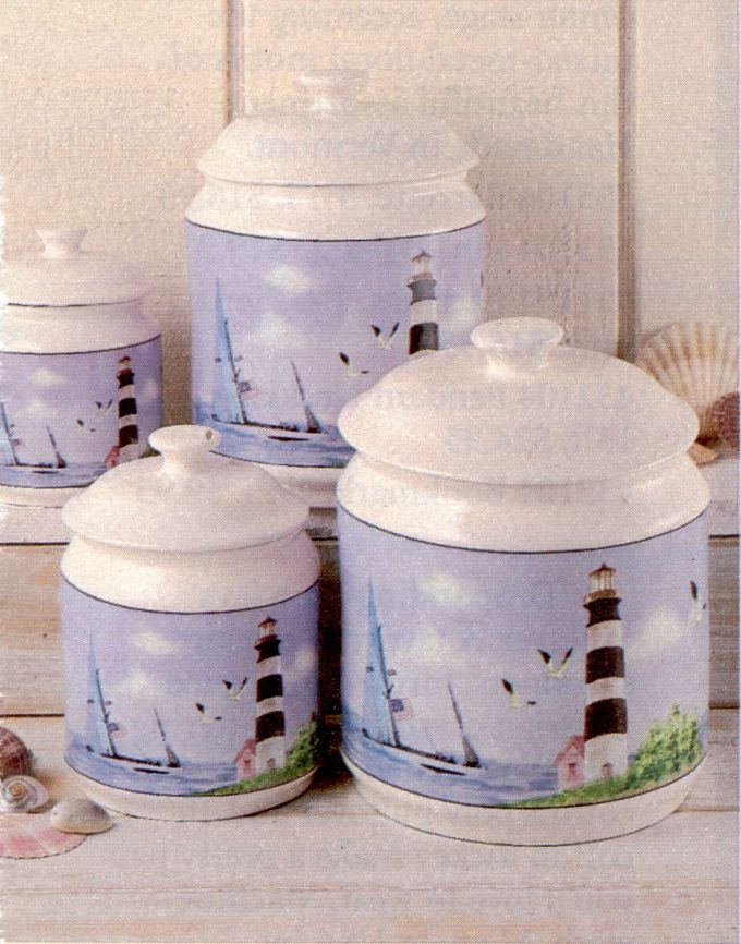 themed kitchen canisters nautical canisters for the kitchen tyres2c
