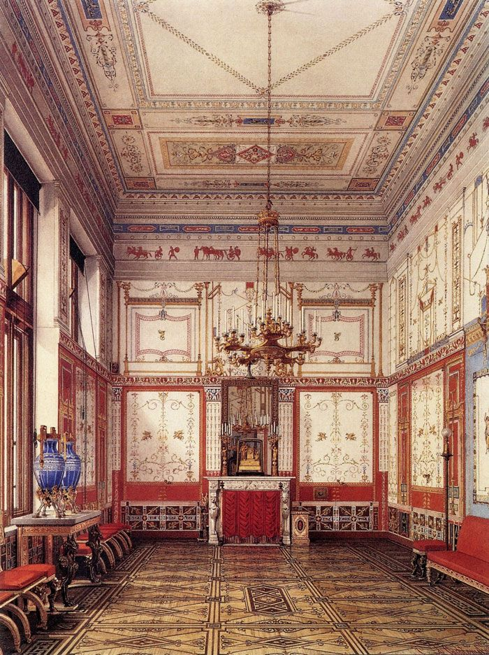 The Suite Of Empress Alexandra Feodorovna At The Winter Palace In Saint Petersburg Winter Palace Palace Interior Hermitage Museum
