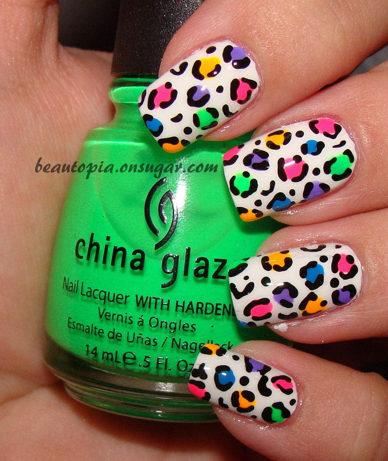 Vistoso Las Uñas De Leopardo Rosa Ornamento - Ideas de Pintar de ...