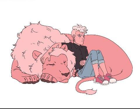 Lars, Lion, Steven Universe, Steven Universe Tumblr, Tumblr