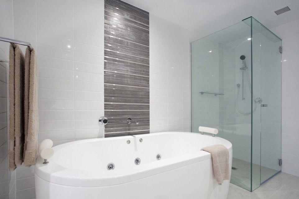 Bathroom Interior Deluxe Advantageous Frameless Shower Doors Frameless Shower Doors With Free Standi Bathroom Design Modern Bathroom Design Bathrooms Remodel