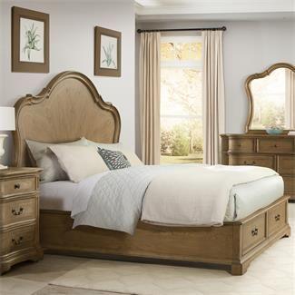 verona panel bed with storage footboard i riverside furniture rh pinterest com Riverside Coventry Bedroom Furniture Discontinued Riverside Coventry Dining Set
