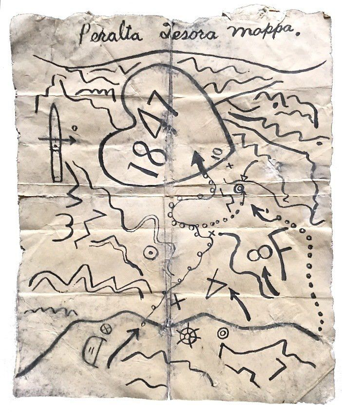Lost Dutchman Mine Map A Map to the Lost Dutchman Gold Mine | mystery why | Treasure maps