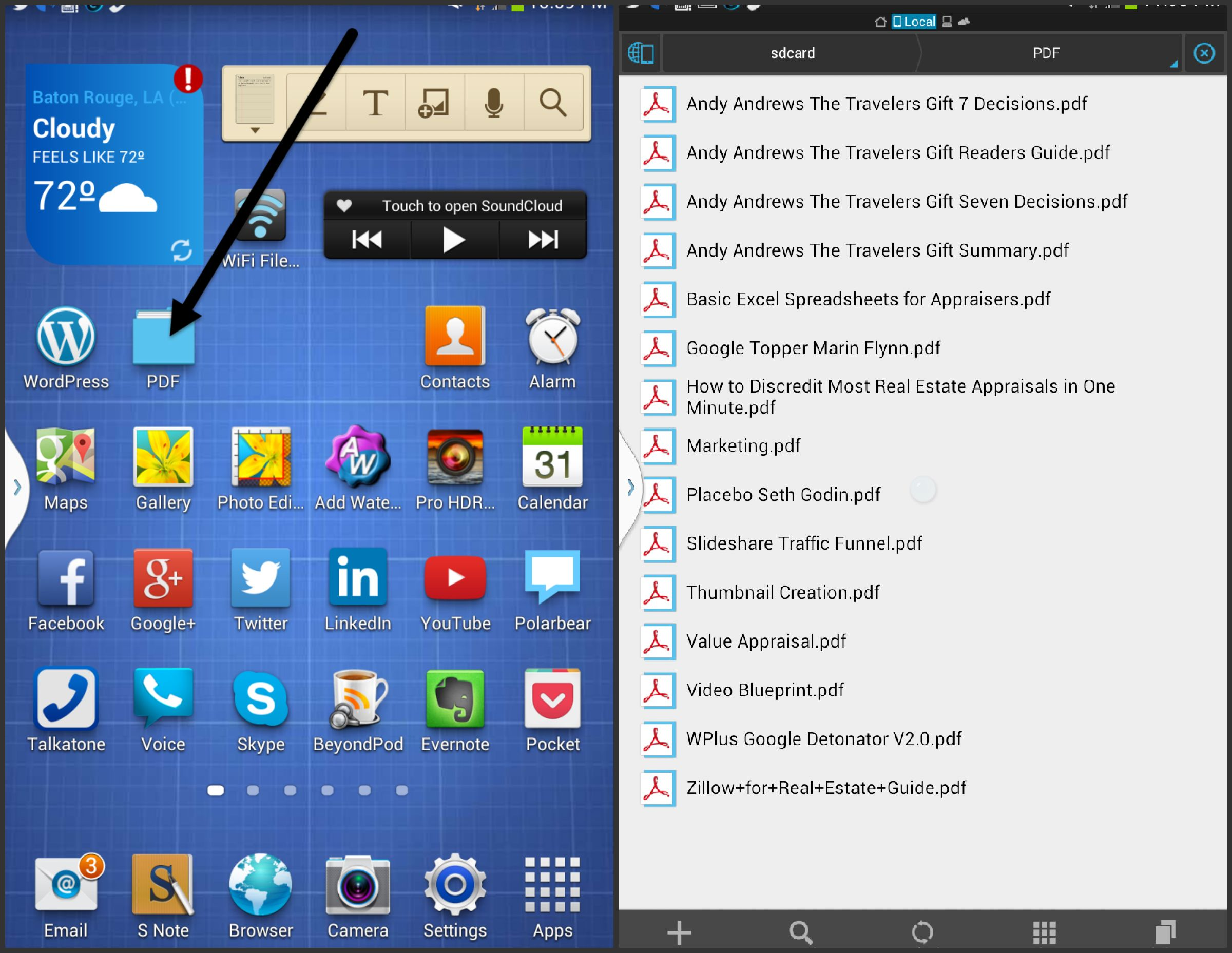 Samsung Galaxy Pdf Reader