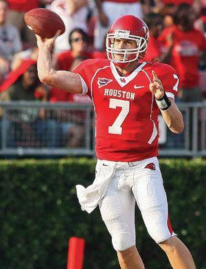 881e7e85 Case Keenum # 7 Houston Cougars QB | NCAA Football | Football ...