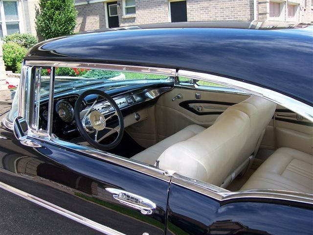 1957 Chevy Bel Air Custom Interior Black Betty We Love Our Car Cars Pinterest Cars