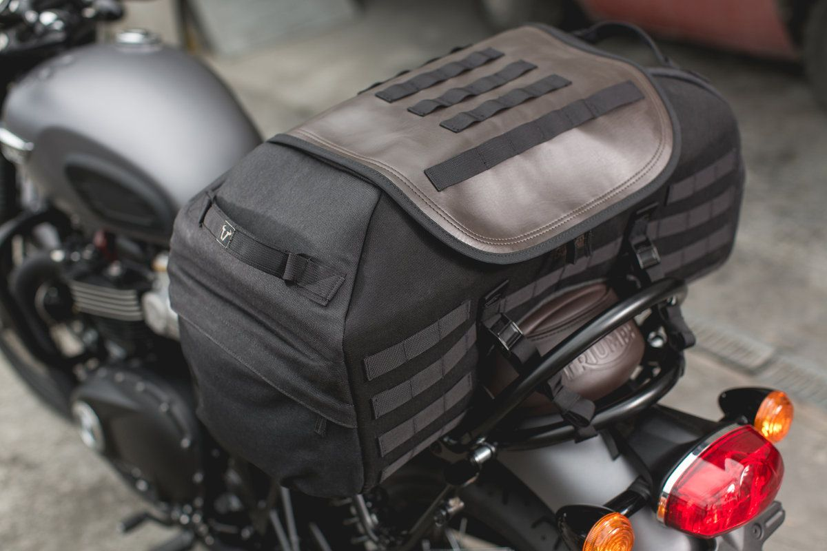 Sw Motech Legend Gear Luggage For The Triumph Street Twin Moto