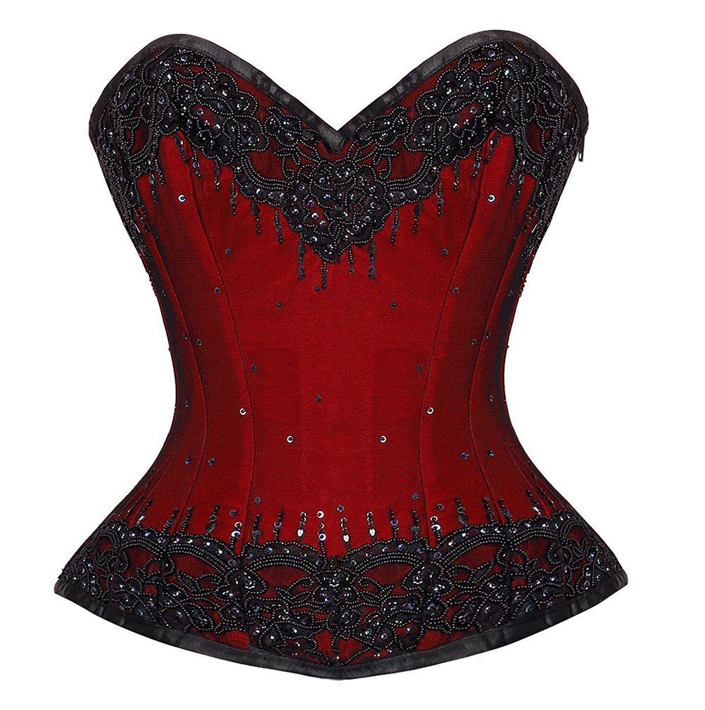 ec76498a12 Leksi Lace Overlay Overbust Couture Corset – Corsetdeal.co.uk ...