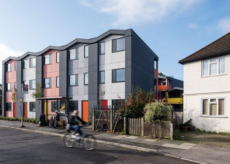 Mole west innen  Richard Rogers' prefab housing for homeless people opens | Dezeen ...
