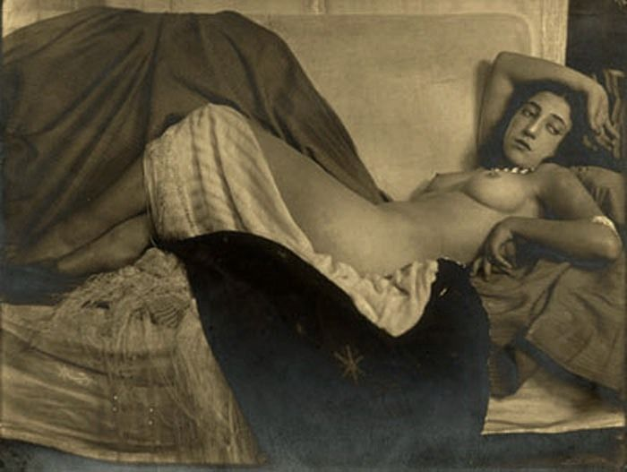 Anton Josef Trčka - Reclining Nude , Vienna, 1926