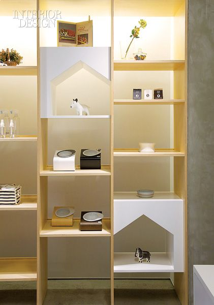 Dog House Shelves Would Be So Adorable For Display In Dog Area Florida Room Pet Store Design Minimalist Design Shop Interior