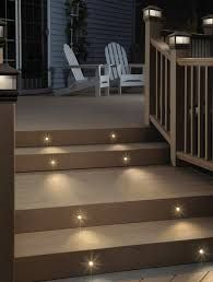 Outdoor stairway lighting Rustic stair Lights led Stair Lights led Step Lights stairwell Lighting Outdoor Pinterest Stair Lights led Stair Lights led Step Lights stairwell Lighting