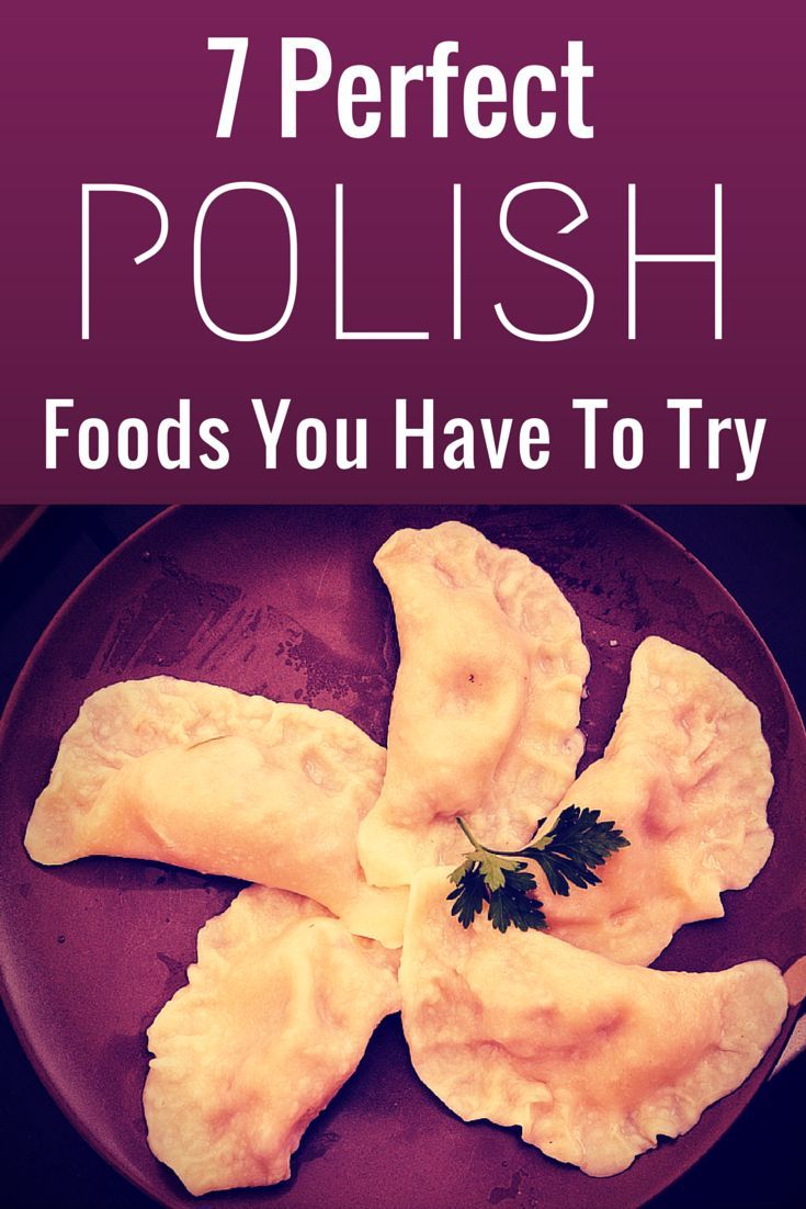 7 perfect polish foods you have to try polish food food travel 7 perfect polish foods you have to try forumfinder Images