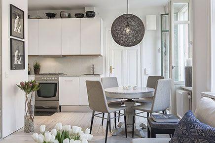 Leuk idee voor inrichten van kleine woonkamer - Kleine woonkamer ...