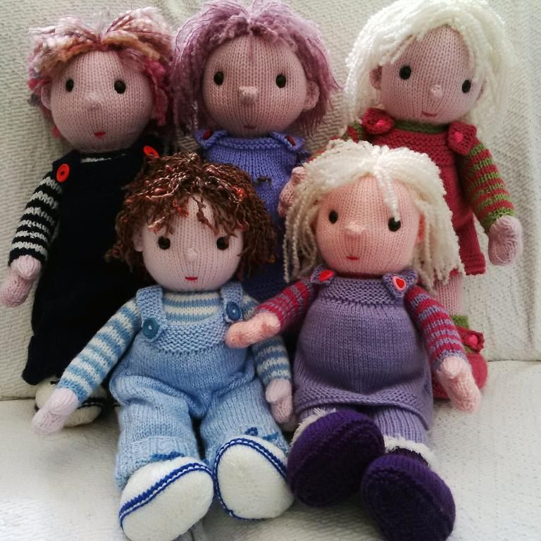 The Poppets Knitting Toys Toy And Knit Crochet