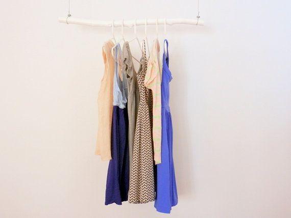 floating clothes rod coat rack tree
