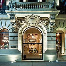 The Mansfield Hotel New York Ny Great Martini Bar In Lobby