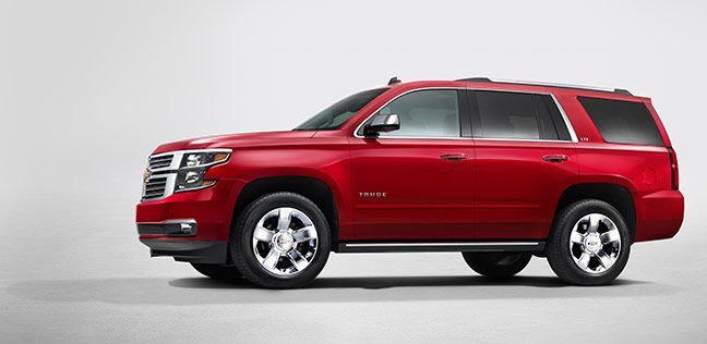 High Power Meets High Style Chevy Tahoe