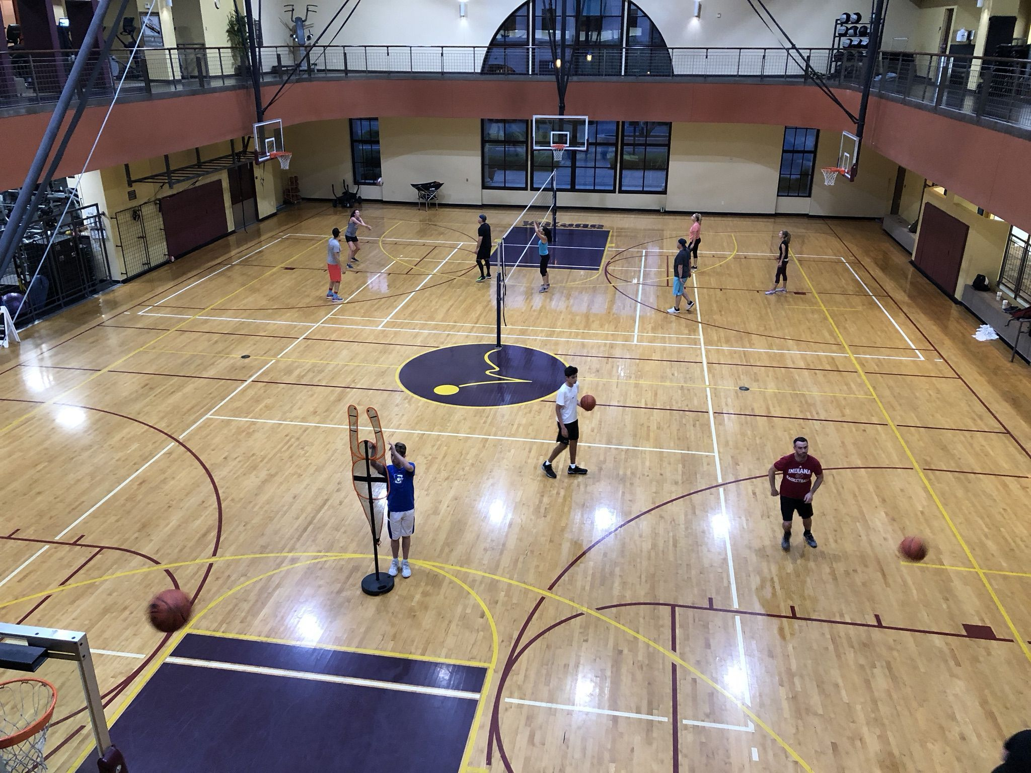 Court sports at dc ranch basketball volleyball