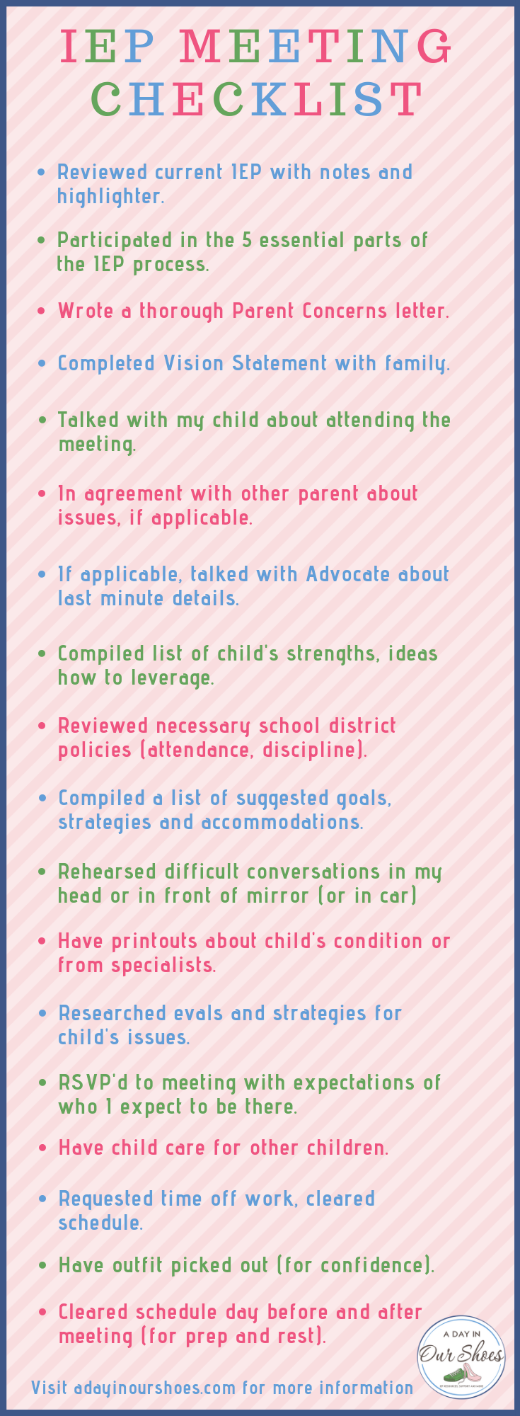 Are You Ready For Your Iep Meeting >> What Every Parent Ought To Know About Iep Meetings The Disability