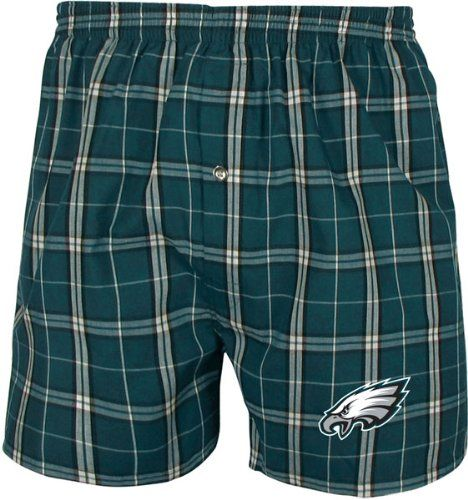 buy popular 97fec 23b0c Amazon.com: Philadelphia Eagles Draft Pick Plaid Boxers ...