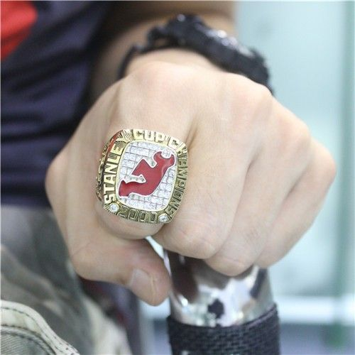 Custom 2003 New Jersey Devils Stanley Cup Championship Ring - Stanley Cup Rings - Customized