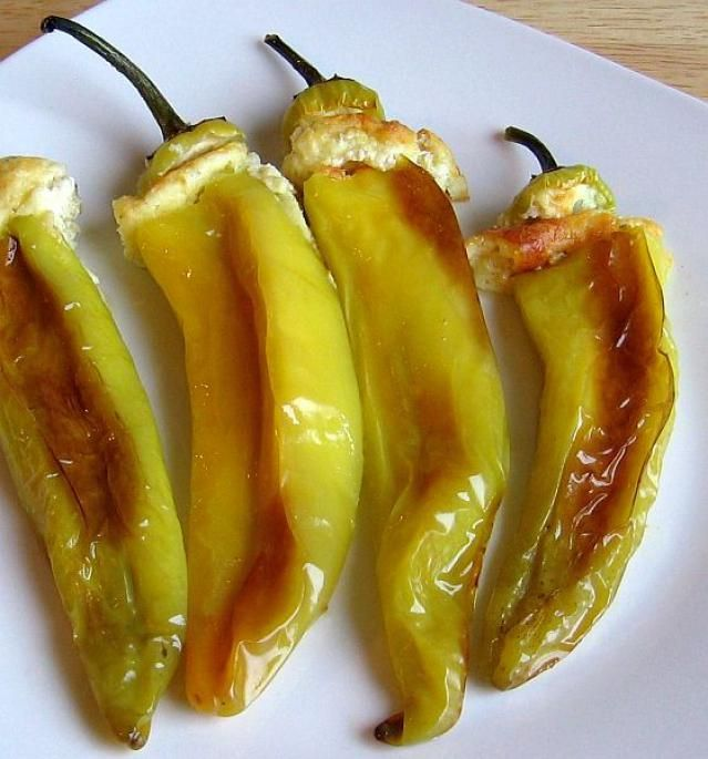 Simple And Easy Hungarian Cheese Stuffed Wax Peppers Recipe Stuffed Peppers Wax Pepper Recipe Peppers Recipes