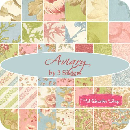 3 Sisters for Moda: Aviary Collection | Fabrics and Fabric sewing : three sisters quilt shop - Adamdwight.com