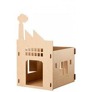 kek amsterdam katzenhaus old factory aus karton 35x28x48cm katzi pinterest. Black Bedroom Furniture Sets. Home Design Ideas