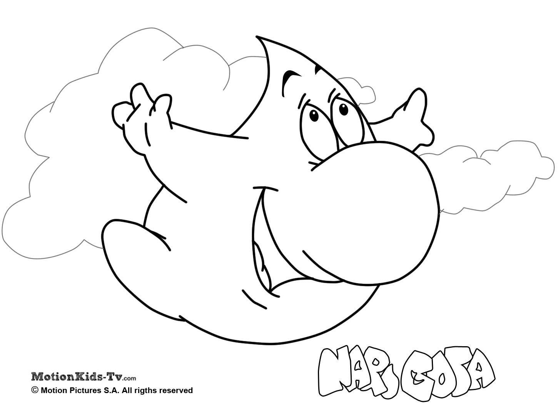 Pintas Narigota, descargar dibujos colorear dibujos animados ...