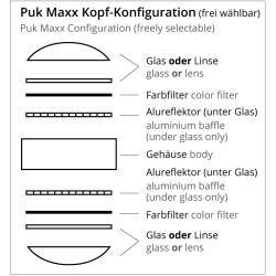 Photo of Top Light Puk Maxx Choice Long One + lampada a sospensione 4 teste nero-cromo 125 cm Led Top Light