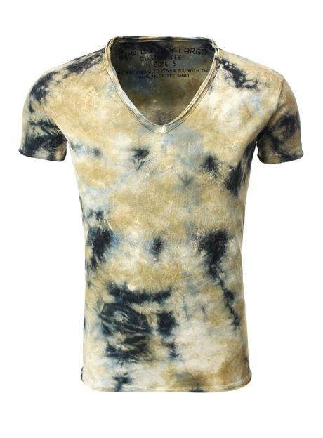 "KEY LARGO* ""Batik"" T Shirt, Sand"