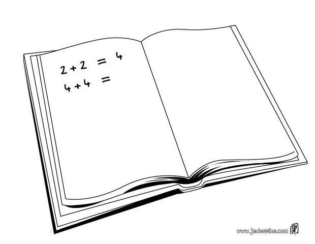 R sultat de recherche d 39 images pour dessin cahier - Cahier de coloriage gratuit ...