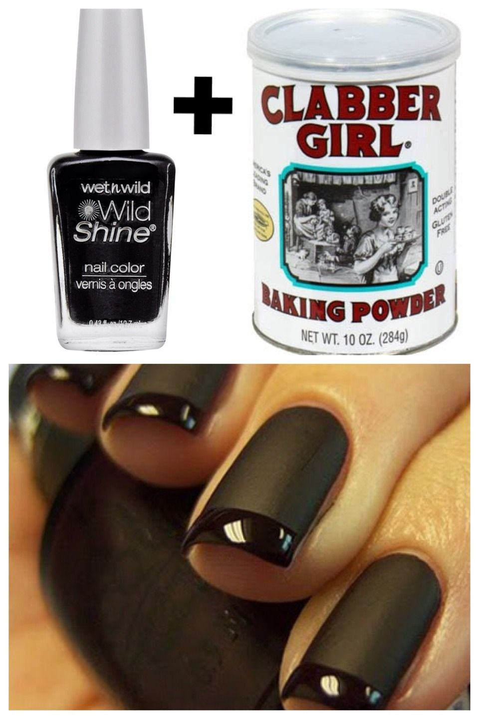Matte Nail Polish: Pour Clear Coat Of Top Coat Onto A Piece Of ...